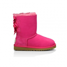 Bailey Bow Boots - Kid's: Bilberry, 1Y by Ugg Australia