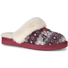 Cozy Nordic Knit Slippers - Women's: Sangria, 6 by Ugg Australia