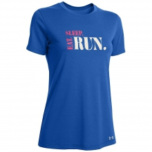 Women's Eat Sleep Run SS Crew by Under Armour