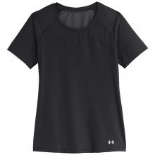Women's Heatgear Alpha Mesh Shortsleeve Shirt by Under Armour