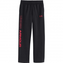 Boys' Armour Fleece Storm Script Pant