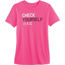 Women's Pip Check Yourself SS Crew Top by Under Armour
