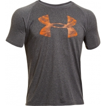 Men's UA Reverb Logo T-Shirt Carbon Heather M by Under Armour
