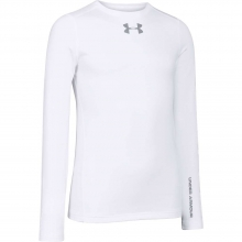 Boys' Coldgear Evo Fitted Long Sleeve Crew by Under Armour