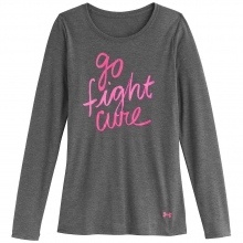 Women's Pip Go Fight Cure Long Sleeve Crew Top by Under Armour