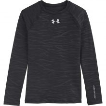 Girls' Evo Coldgear Fitted Crew by Under Armour