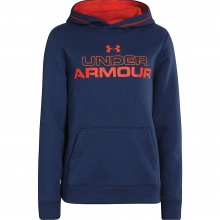 Boys' Rival Cotton Holiday Hoody by Under Armour