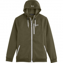 Men's UA ColdGear Infrared Dobson Cotton SoftShell Hooded by Under Armour