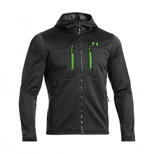 UA ColdGear Infrared Hooded Softershell Jacket Men's by Under Armour