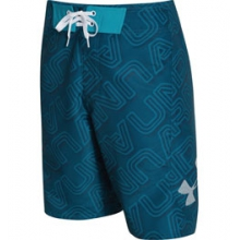 UA Bergwind Boardshorts - Men's - Sapphire Lake/White In Size: 30 by Under Armour