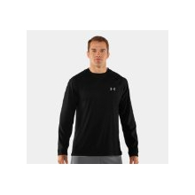Tech Tee Long Sleeve - Men's Black Small by Under Armour