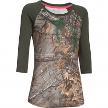 Women's Tech Camo 3/4 Tee by Under Armour