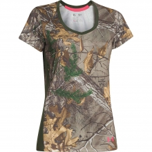 Women's Tech Camo SS Tee by Under Armour