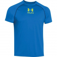 Men's Run Novelty SS Tee by Under Armour