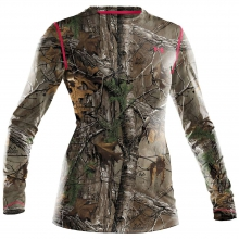 Women's UA Scent Control EVO HG Camo Long Sleeve Tee by Under Armour