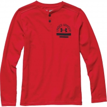 Boys' 12.1 LS Henley Top by Under Armour