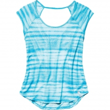 Women's Fly By Allover Printed Mesh SS T by Under Armour