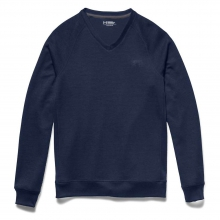 Men's Storm Sweater Fleece V Neck Top by Under Armour