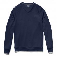 Men's Storm Sweater Fleece V Neck Top by Under Armour