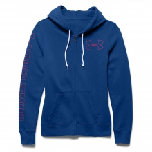 Women's Favorite Fleece Full Zip Hoody by Under Armour