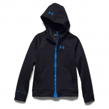 Youth ColdGear Infrared Softershell Hooded by Under Armour