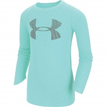 Girls' Waffle LS Top by Under Armour