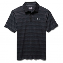 Men's coldblack Chip In Stripe Polo