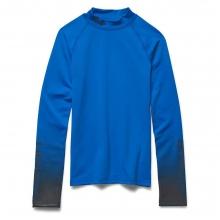 Boys' ColdGear Evo UA Sleeve Mock Neck Top by Under Armour