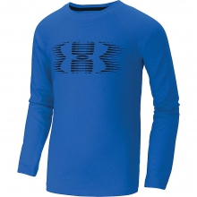 Boys' Waffle Crew Top by Under Armour