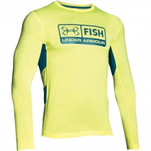 Men's Fish Hunter Tech LS Top by Under Armour