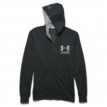 Men's Tri Blend Fleece Full Zip Hoody by Under Armour
