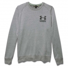 Men's Tri Blend LC Lockup Crew by Under Armour
