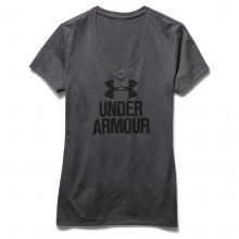 Women's Graphic Tech V Neck Tee by Under Armour