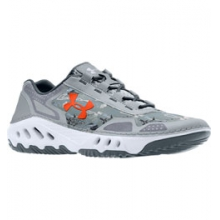 UA Drainster Water Shoe - Men's - Ridge Reaper Camo Hydro/Stealth Gray/Charcoal In Size: 10 by Under Armour