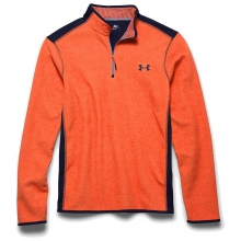 Men's ColdGear Infrared Survival Fleece 1/4 Zip Top by Under Armour