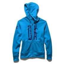 Women's Armour Fleece Full Zip Graphic Hoody by Under Armour