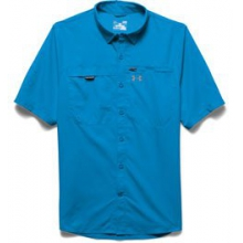 UA Fish Stalker Short Sleeve Shirt - Men's - Electric Blue In Size: Medium
