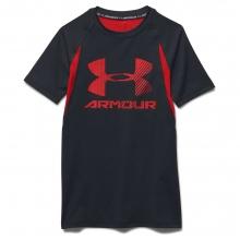 Boys' Heatgear Armour Up Digi SS Fitted T Shirt in Logan, UT