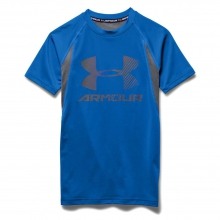 Boys' Heatgear Armour Up Digi SS Fitted T Shirt in Logan, UT