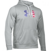 UA BFL AF Hoodie - Men's - True Grey Heather/Ultra Blue In Size in Logan, UT