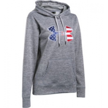 UA AF BFL Hoodie - Women's - True Grey Heather/White In Size: Extra Small in Logan, UT