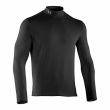 Men's UA ColdGear Infrared Fitted Mock Top by Under Armour