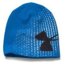 Billboard GITD Beanie Hat - Boy's - Blue Jet/Black by Under Armour