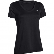 Women's UA Tech Solid V-Neck SS Top by Under Armour