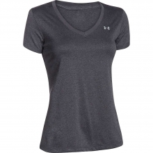 Women's UA Tech Solid V-Neck SS Top in Logan, UT