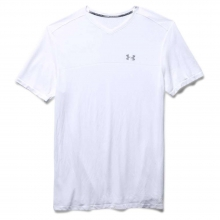 Men's Run Seamless V Neck SS Tee by Under Armour