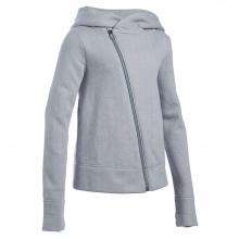 Girls' Finale Studio Full Zip Fleece Top by Under Armour