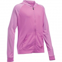 Girls' Tech Full Zip Hoody by Under Armour