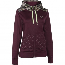 Women's Coldgear Infrared Caliber Full-Zip Hoody by Under Armour