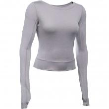 Women's Wishbone LS Crop Top by Under Armour
